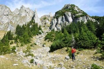 Gipfel der Südkarpaten