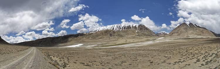 Auf dem Pamir Highway in Tadschikistan