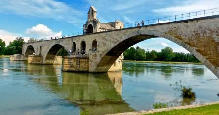 Mit dem Fahrrad durch die Provence