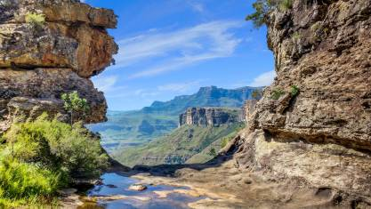 Ausblick Drakensberge