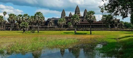Straße nach Angkor