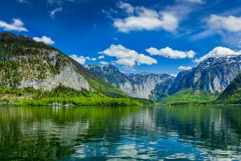 Hallstätter See im Salzkammergut