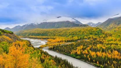 Landschaft in Alaska