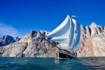 Segeltour in Grönland - Scoresbysund