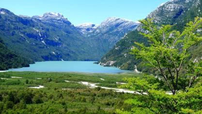 Chiles Seengebiet aktiv