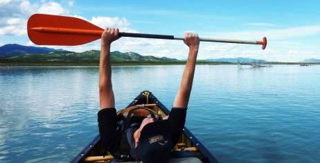 Yukon River Kanutour Carmacks - Dawson City