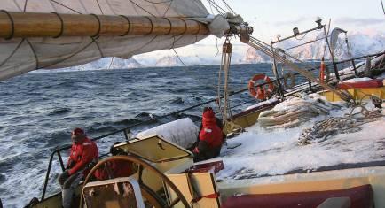Segel Expedition Nord Norwegen