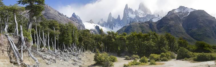 Landschaft El Chalten Fitz Roy