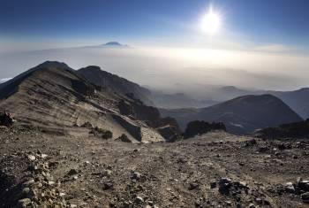 Traumhafter Blick vom Mount Meru auf den Kilimandscharo