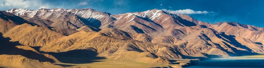 Wunderschöner Blick über den Jaschikul See im Pamir