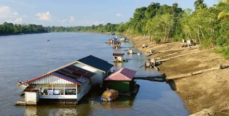 Flussabenteuer Mahakam River