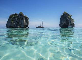 Thailand Koh Ha Segeltour