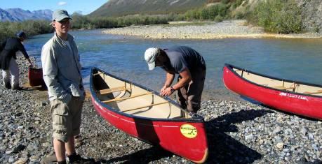 Yukon River Kanutour Lake Laberge bis Carmacks