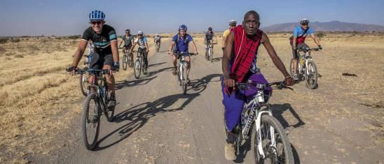 Mit dem Fahrrad durch Tansania