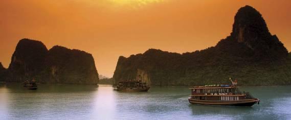 Entlang der Küste von Vietnam