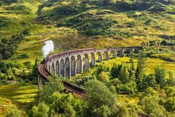 Wandererlebnis Schottland mit der Bahn