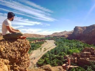 Herrliche Aussicht in Marokko genießen