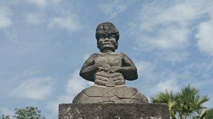Statue auf Sumba