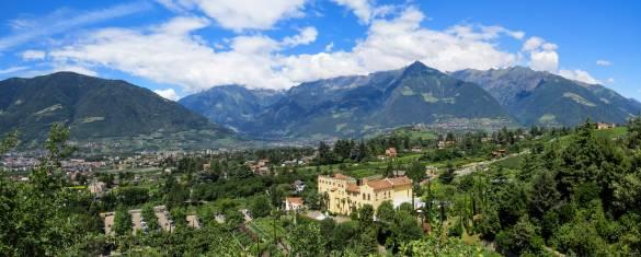 Panorama Meran Südtirol