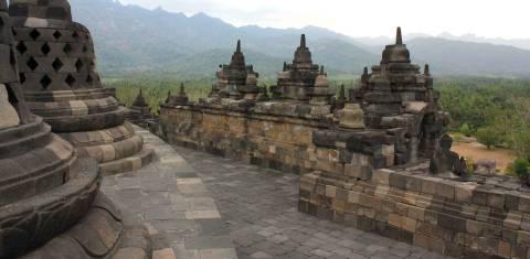 Java & Bali Erkundung - Tempelanlage Borobudur