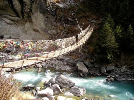 Trekking in durch das faszinierende Nepal.