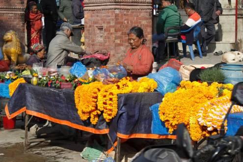 Einblick in das normale Leben in Nepal