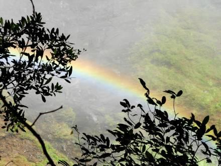 An den zauberhaften Victoria Falls