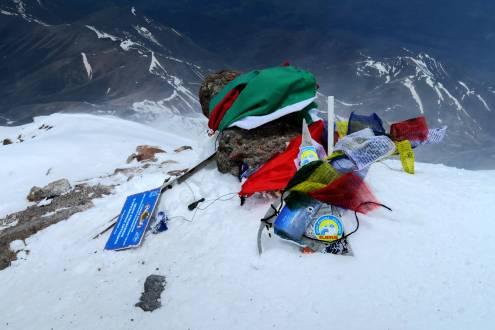 Am Gipfel des Elbrus