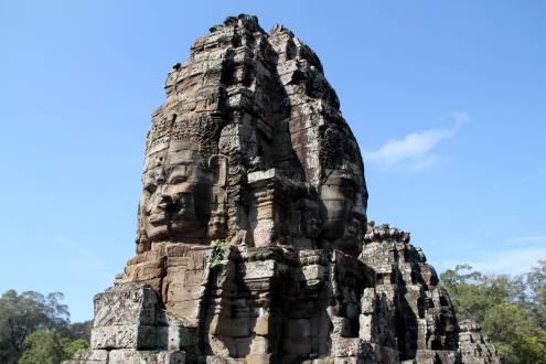 Die bekannteste Tempelanlage Angkor Wat.