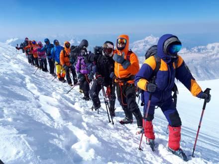 Elbrus-Expedition