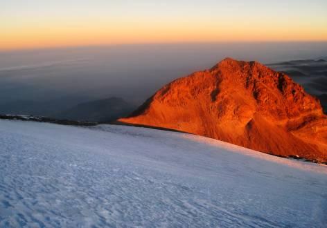 Sonnenaufgang am Pico de Orizaba