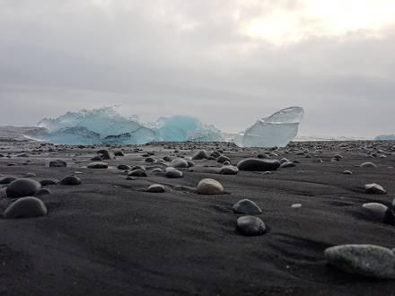 Eisige Ausblicke in Island