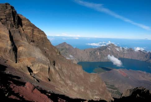 Besteigung des Mount Rinjani Vulkan auf Lombok