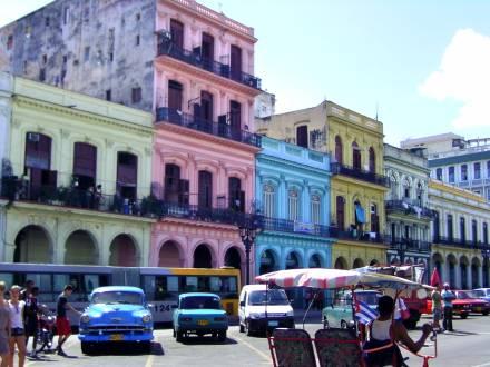 Bunte Hauptstadt Havanna