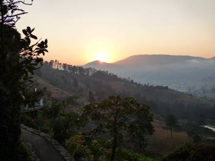 Unglaublicher Sonnenaufgang in Swasiland
