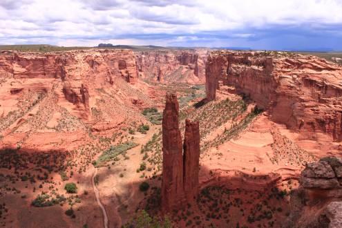 Spider Rock im Canyon de Chelly