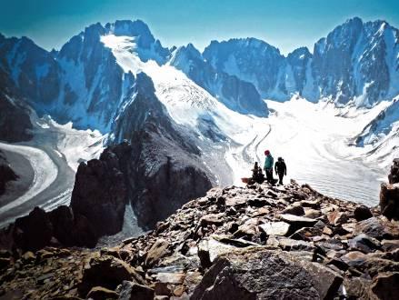 Trekking im Himmelsgebirge