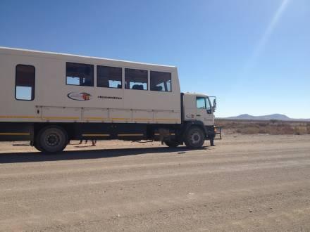 Unser Overland Truck on Tour!