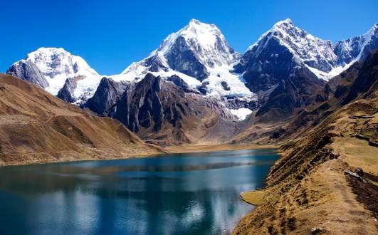Herrliche Bergwelt der Cordillera Huayhuash