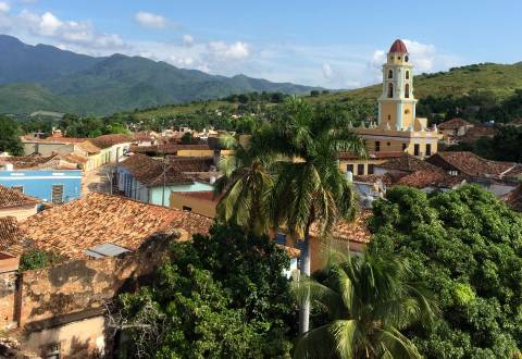 Traumhafter Ausblick über Trinidad