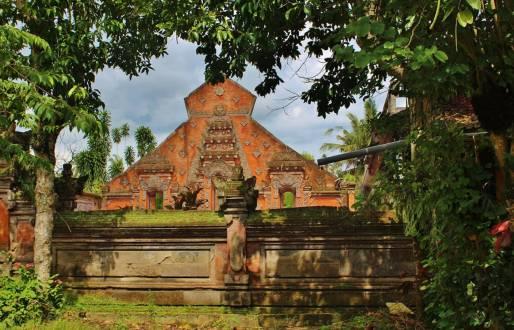 Herrliche Tempelanlage in Ubud auf Bali