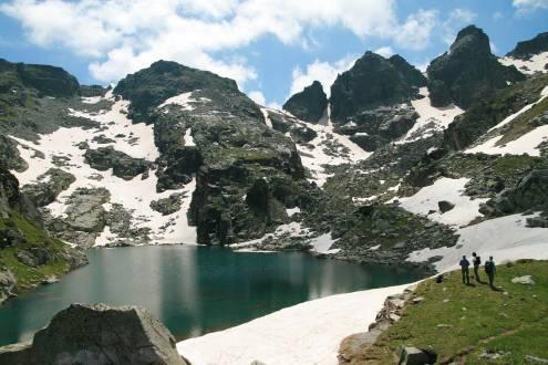 Tolle Ausblicke beim Trekking in Bulgariens Berglandschaften.